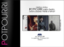 potpourri, exhibition, catalogue, art,sara lerota